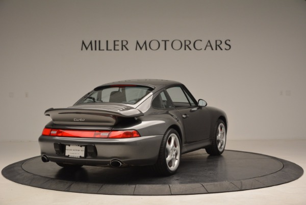 Used 1996 Porsche 911 Turbo for sale Sold at Bentley Greenwich in Greenwich CT 06830 7