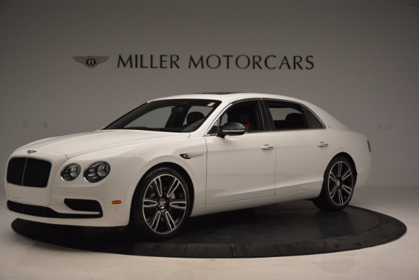New 2017 Bentley Flying Spur V8 S for sale Sold at Bentley Greenwich in Greenwich CT 06830 2