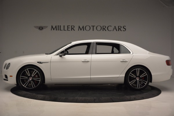 New 2017 Bentley Flying Spur V8 S for sale Sold at Bentley Greenwich in Greenwich CT 06830 3