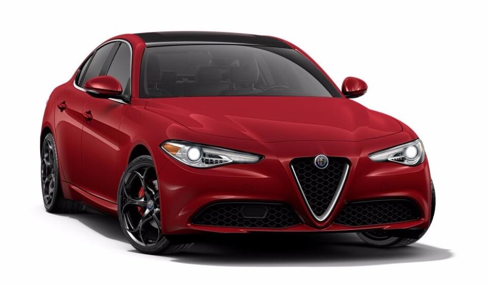 New 2017 Alfa Romeo Giulia Ti Q4 for sale Sold at Bentley Greenwich in Greenwich CT 06830 1