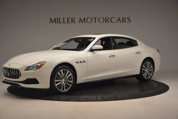 Used 2017 Maserati Quattroporte SQ4 for sale Sold at Bentley Greenwich in Greenwich CT 06830 2