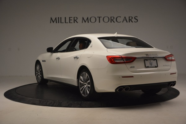 Used 2017 Maserati Quattroporte SQ4 for sale Sold at Bentley Greenwich in Greenwich CT 06830 5