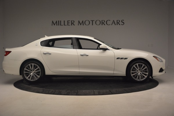 Used 2017 Maserati Quattroporte SQ4 for sale Sold at Bentley Greenwich in Greenwich CT 06830 9