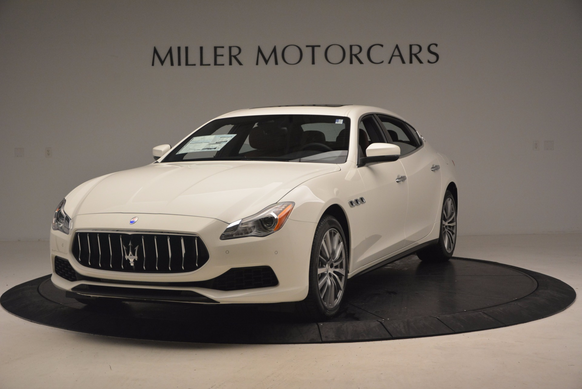 Used 2017 Maserati Quattroporte SQ4 for sale Sold at Bentley Greenwich in Greenwich CT 06830 1