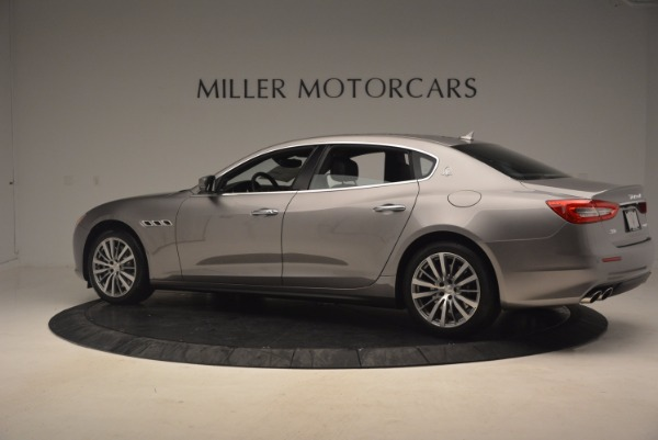 New 2017 Maserati Quattroporte SQ4 for sale Sold at Bentley Greenwich in Greenwich CT 06830 4