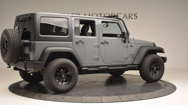 Used 2014 Jeep Wrangler Unlimited Sport for sale Sold at Bentley Greenwich in Greenwich CT 06830 10