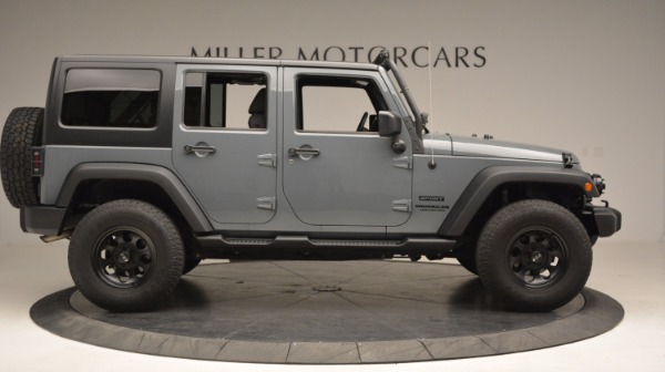 Used 2014 Jeep Wrangler Unlimited Sport for sale Sold at Bentley Greenwich in Greenwich CT 06830 11