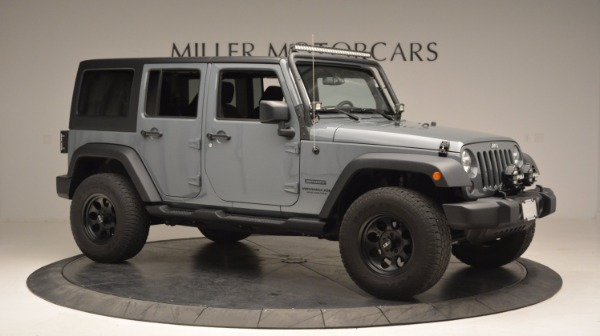 Used 2014 Jeep Wrangler Unlimited Sport for sale Sold at Bentley Greenwich in Greenwich CT 06830 12