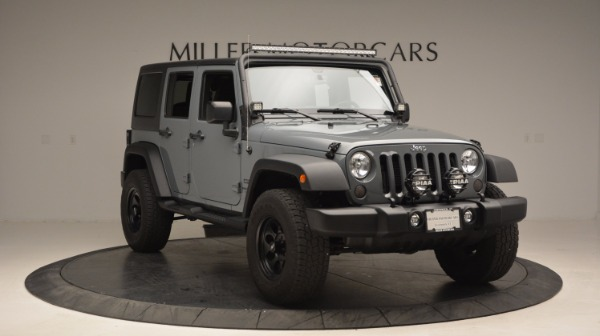Used 2014 Jeep Wrangler Unlimited Sport for sale Sold at Bentley Greenwich in Greenwich CT 06830 13