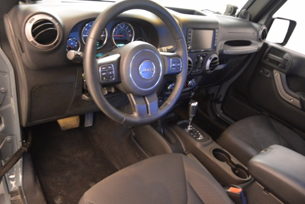 Used 2014 Jeep Wrangler Unlimited Sport for sale Sold at Bentley Greenwich in Greenwich CT 06830 15