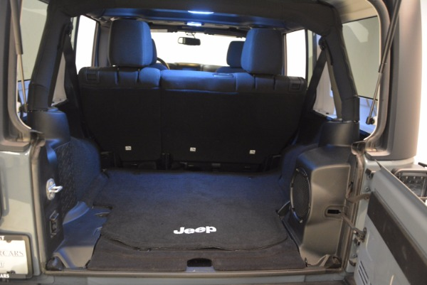 Used 2014 Jeep Wrangler Unlimited Sport for sale Sold at Bentley Greenwich in Greenwich CT 06830 19