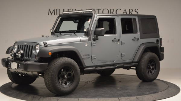 Used 2014 Jeep Wrangler Unlimited Sport for sale Sold at Bentley Greenwich in Greenwich CT 06830 2