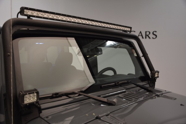 Used 2014 Jeep Wrangler Unlimited Sport for sale Sold at Bentley Greenwich in Greenwich CT 06830 27