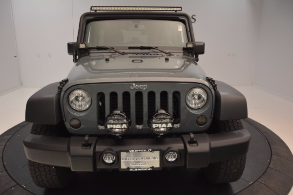 Used 2014 Jeep Wrangler Unlimited Sport for sale Sold at Bentley Greenwich in Greenwich CT 06830 28