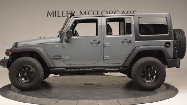 Used 2014 Jeep Wrangler Unlimited Sport for sale Sold at Bentley Greenwich in Greenwich CT 06830 3