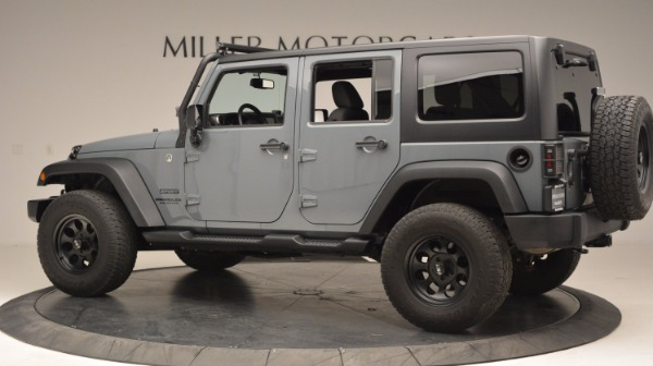 Used 2014 Jeep Wrangler Unlimited Sport for sale Sold at Bentley Greenwich in Greenwich CT 06830 4