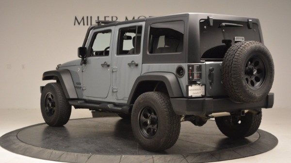 Used 2014 Jeep Wrangler Unlimited Sport for sale Sold at Bentley Greenwich in Greenwich CT 06830 5