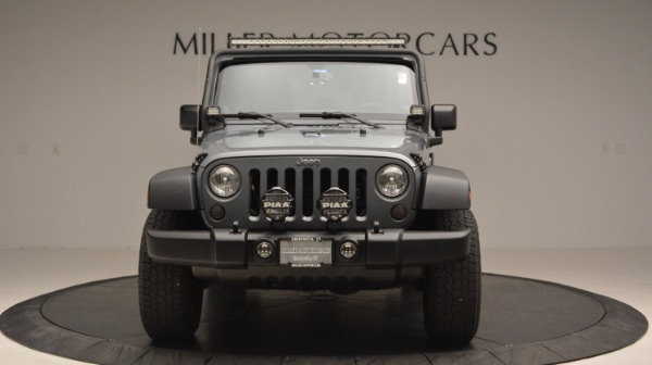 Used 2014 Jeep Wrangler Unlimited Sport for sale Sold at Bentley Greenwich in Greenwich CT 06830 6