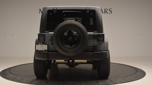 Used 2014 Jeep Wrangler Unlimited Sport for sale Sold at Bentley Greenwich in Greenwich CT 06830 7