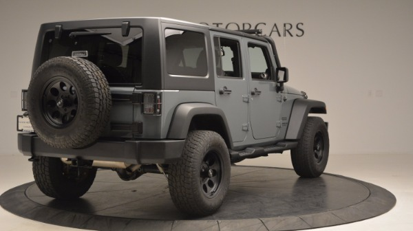Used 2014 Jeep Wrangler Unlimited Sport for sale Sold at Bentley Greenwich in Greenwich CT 06830 8
