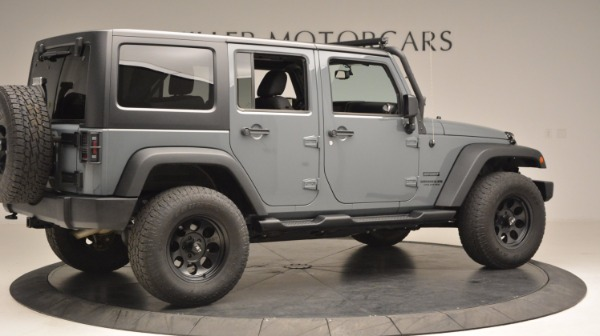 Used 2014 Jeep Wrangler Unlimited Sport for sale Sold at Bentley Greenwich in Greenwich CT 06830 9