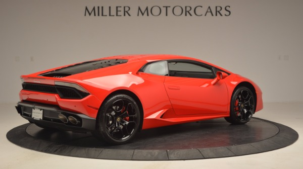 Used 2016 Lamborghini Huracan LP 580-2 for sale Sold at Bentley Greenwich in Greenwich CT 06830 8