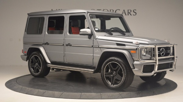 Used 2016 Mercedes Benz G-Class G 63 AMG for sale Sold at Bentley Greenwich in Greenwich CT 06830 10