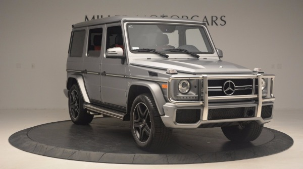 Used 2016 Mercedes Benz G-Class G 63 AMG for sale Sold at Bentley Greenwich in Greenwich CT 06830 11
