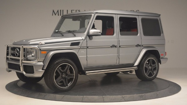 Used 2016 Mercedes Benz G-Class G 63 AMG for sale Sold at Bentley Greenwich in Greenwich CT 06830 2