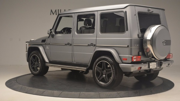 Used 2016 Mercedes Benz G-Class G 63 AMG for sale Sold at Bentley Greenwich in Greenwich CT 06830 4