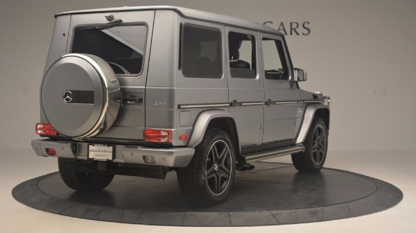 Used 2016 Mercedes Benz G-Class G 63 AMG for sale Sold at Bentley Greenwich in Greenwich CT 06830 7