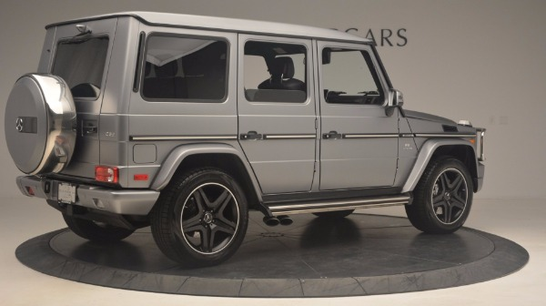Used 2016 Mercedes Benz G-Class G 63 AMG for sale Sold at Bentley Greenwich in Greenwich CT 06830 8