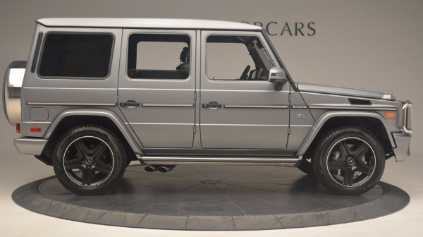 Used 2016 Mercedes Benz G-Class G 63 AMG for sale Sold at Bentley Greenwich in Greenwich CT 06830 9