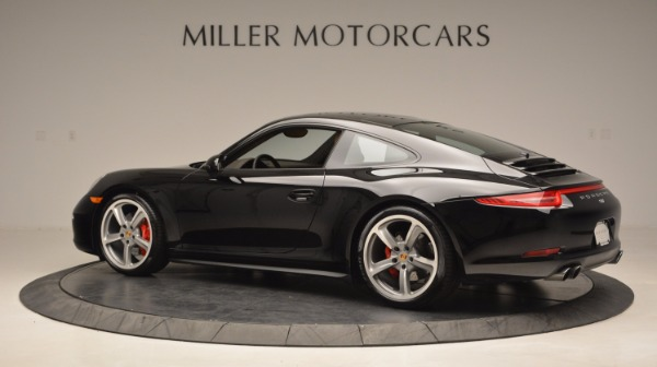 Used 2014 Porsche 911 Carrera 4S for sale Sold at Bentley Greenwich in Greenwich CT 06830 4