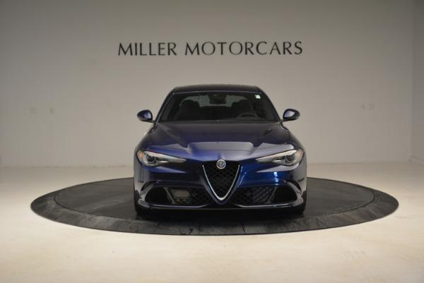 Used 2017 Alfa Romeo Giulia Quadrifoglio for sale Sold at Bentley Greenwich in Greenwich CT 06830 12