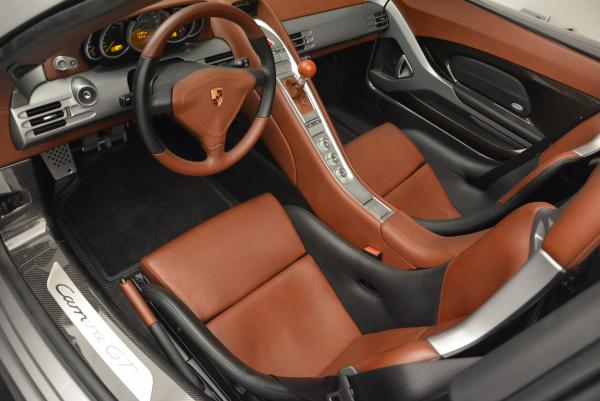 Used 2005 Porsche Carrera GT for sale Sold at Bentley Greenwich in Greenwich CT 06830 17