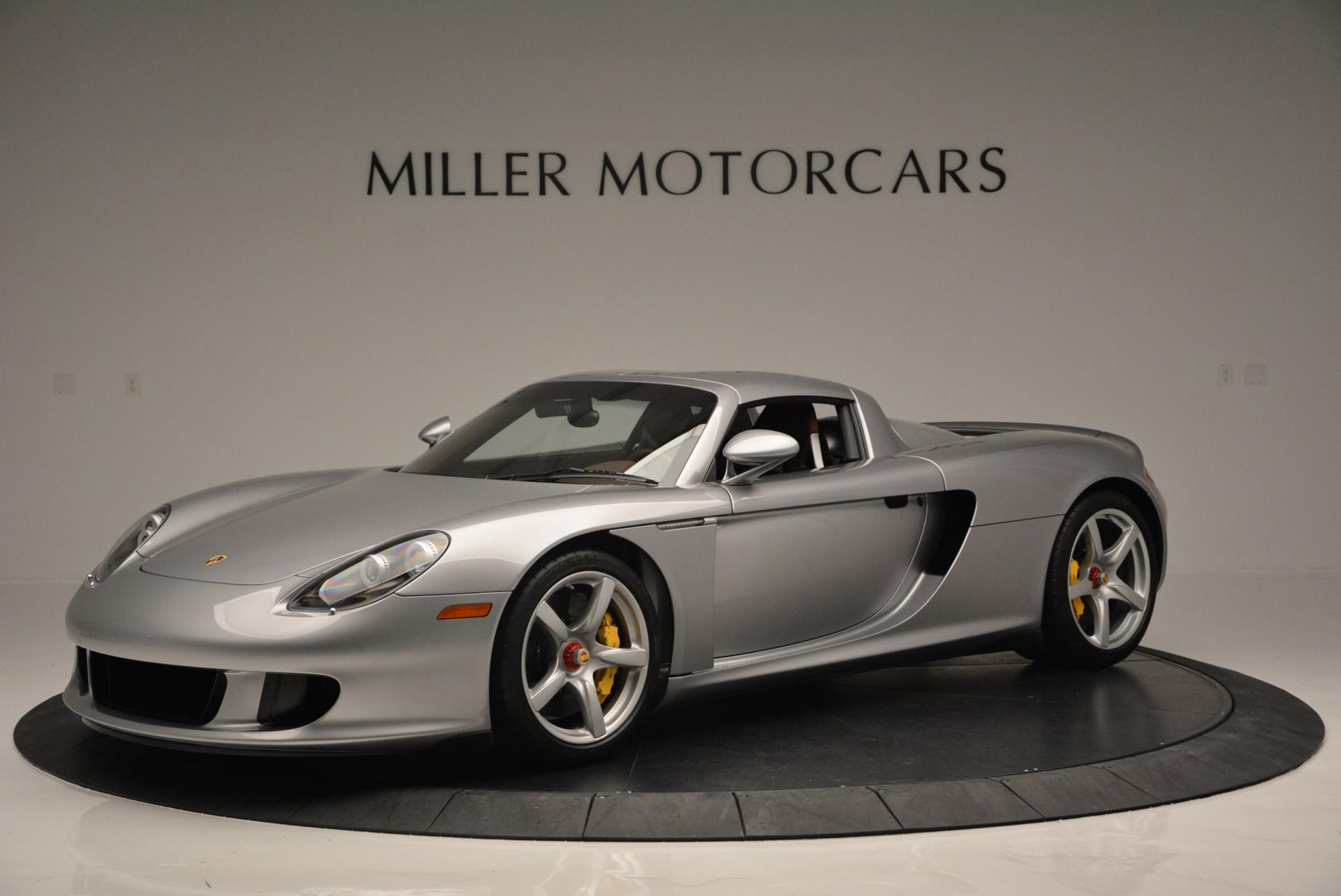 Used 2005 Porsche Carrera GT for sale Sold at Bentley Greenwich in Greenwich CT 06830 1