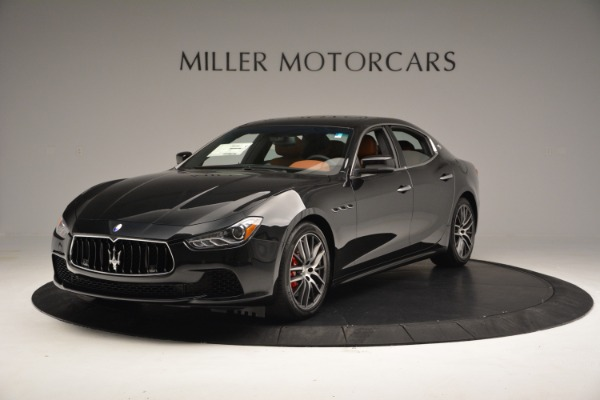 New 2017 Maserati Ghibli SQ4 S Q4 for sale Sold at Bentley Greenwich in Greenwich CT 06830 1