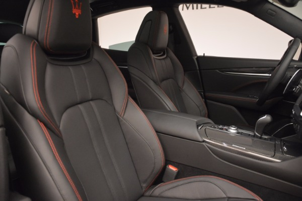 New 2017 Maserati Levante S Q4 for sale Sold at Bentley Greenwich in Greenwich CT 06830 24