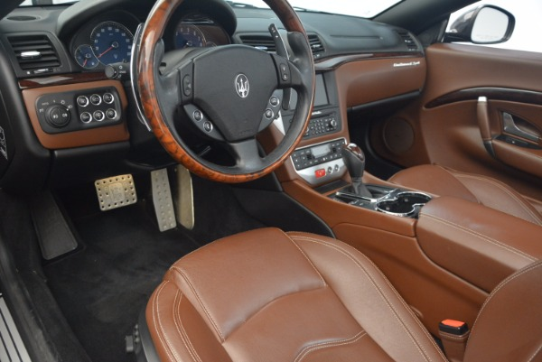 Used 2012 Maserati GranTurismo Sport for sale Sold at Bentley Greenwich in Greenwich CT 06830 21