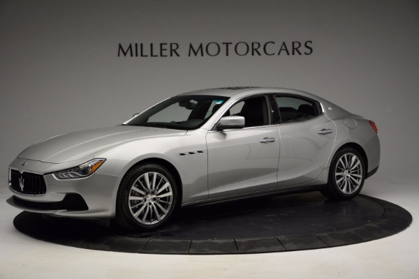 Used 2014 Maserati Ghibli for sale Sold at Bentley Greenwich in Greenwich CT 06830 1