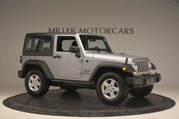 Used 2015 Jeep Wrangler Sport for sale Sold at Bentley Greenwich in Greenwich CT 06830 10