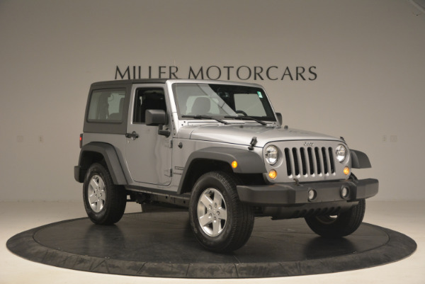 Used 2015 Jeep Wrangler Sport for sale Sold at Bentley Greenwich in Greenwich CT 06830 11