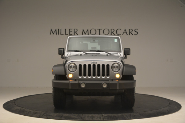 Used 2015 Jeep Wrangler Sport for sale Sold at Bentley Greenwich in Greenwich CT 06830 12