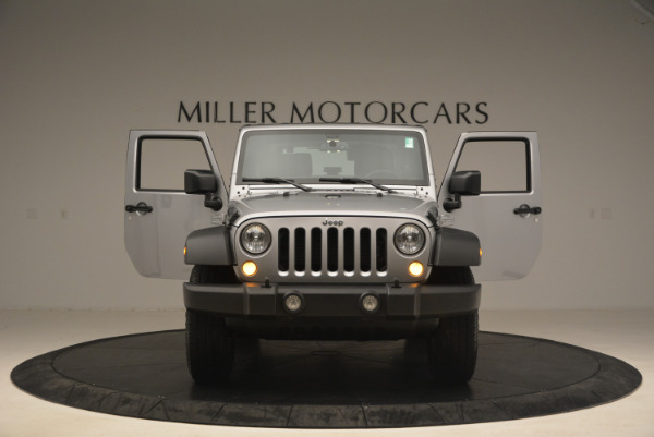 Used 2015 Jeep Wrangler Sport for sale Sold at Bentley Greenwich in Greenwich CT 06830 13
