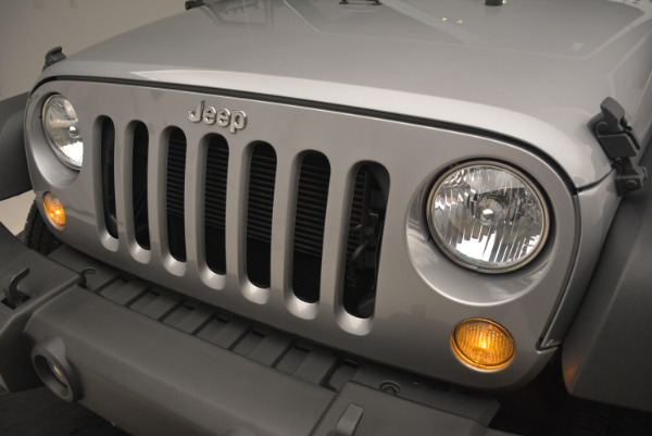 Used 2015 Jeep Wrangler Sport for sale Sold at Bentley Greenwich in Greenwich CT 06830 14