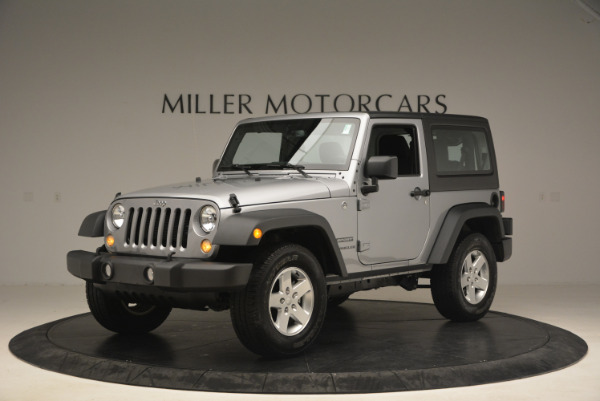 Used 2015 Jeep Wrangler Sport for sale Sold at Bentley Greenwich in Greenwich CT 06830 2