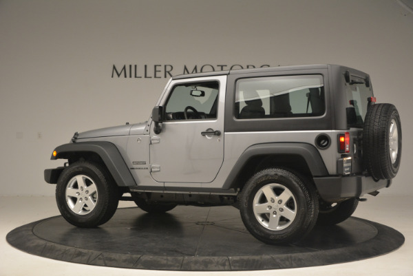 Used 2015 Jeep Wrangler Sport for sale Sold at Bentley Greenwich in Greenwich CT 06830 4