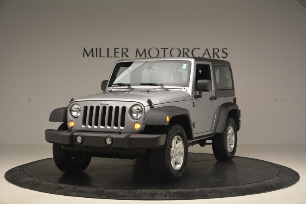 Used 2015 Jeep Wrangler Sport for sale Sold at Bentley Greenwich in Greenwich CT 06830 1