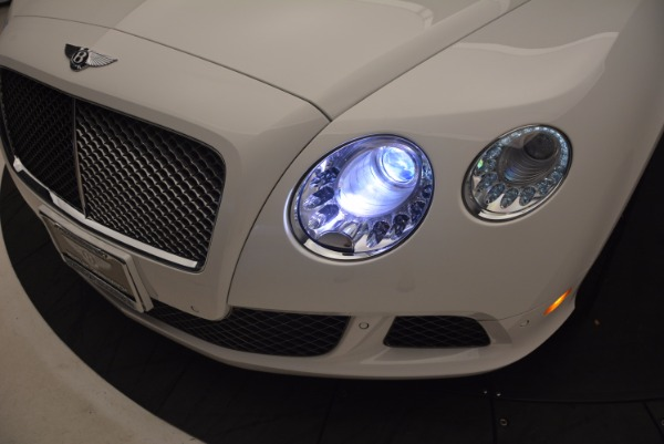 Used 2014 Bentley Continental GT Speed for sale Sold at Bentley Greenwich in Greenwich CT 06830 18